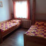 Postele ve druhé ložnici - varianta čtyřlůžkový pokoj