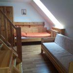 Rozkládací pohovka a postel